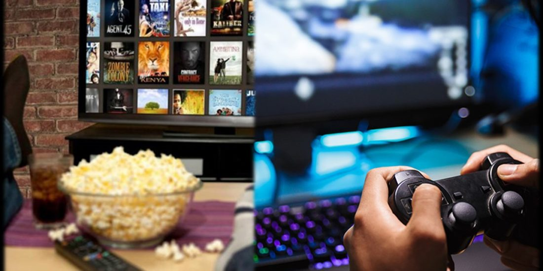 The cold weather is here and so is the time for binge watching and gaming.
