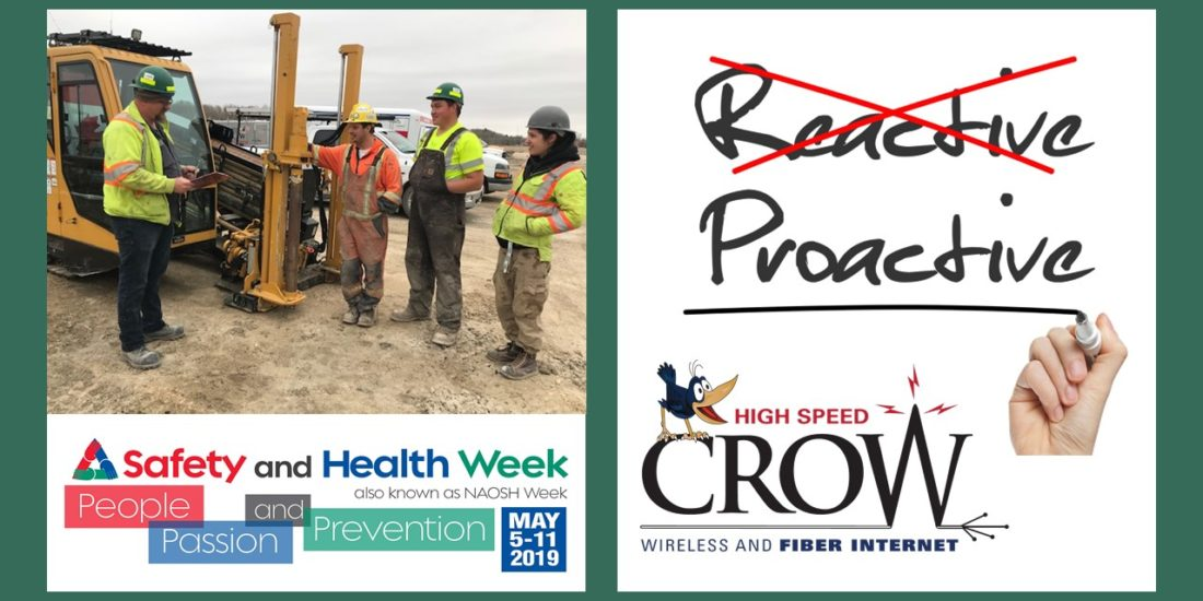 HIGH SPEED CROW CHOSEN FOR WORKPLACE SAFETY AWARD